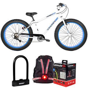 "Kent 62614 Takara Nobu 26"" 7-Speed Fat Bike + Accessory Bundle"