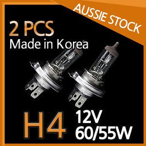 H4 Halogen Light Bulbs Headlight Globes 12V 60/55W Yellow Warm White CAR 2PCS