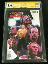 Signed WWE ROYAL RUMBLE #1 CGC 9.6 by JOHN CENA Boom! Studios 2018 Special