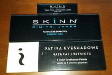 SKINN Patina 6 Color Eyeshadow Palette x2 - New with Bonus Lipstick!