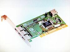 Scheda PCI USB 2.0 4 Porte (3 esterne + 1 interna)