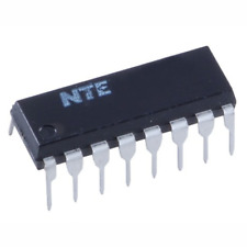 Nte Electronics Nte1568 Integrated Circuit Frequency Divider Generator For Vcr 1