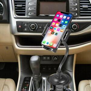 Car SUV Truck Cradle Cup Holder Phone Mount For iPhones, Samsung, Motorola, LG