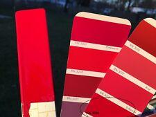 Peinture carrosserie: 0,5 L base à vernir solvant Rouge signalisation RAL 3020