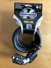 Kryptonite Kryptoflex 1218 Cable bike lock With Combination Lock