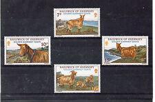 Guernsey Animales de Graja Cabras serie del año 1980 (CT-791)