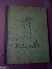 Schönheit des Leibes Nu Naturisme Body Cultivation Women Photographie 1938