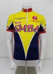 Verge Sport Team SMBA Primary Colored 1/2-Zip Cycling Bike Jersey Size M+ GREAT