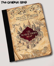 Harry Potter Inspired The Marauders Map ipad mini  notebook case Leather