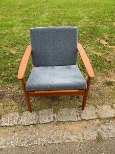 Dänisches Design Sessel aus Teakholz