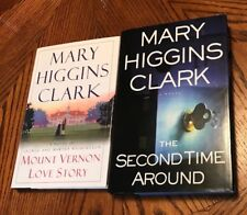 The Second Time Around.by Mary Higgins Clark And Mount Vernon ❤️story(signed).