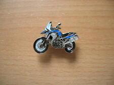 Pin Anstecker BMW F800GS / F 800 GS blau blue Art. 1246 Motorrad Moto Motorbike