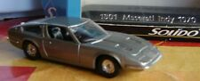 Maserati Indy 1970  N°1801 Solido  (1/43)
