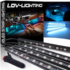 Ice Blue Color Glow Dash Footwell Interior Light 5050 LED Strip Lamp for Chevy