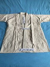 =Judo Jacket=Vintage=1980=Beige =Unique=Hsk,Made In Japan=Size 2=Original=New=