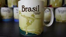 Brasil Starbucks Icon mug cup 16 oz. MIC Collectible- NEW with tag ship from USA