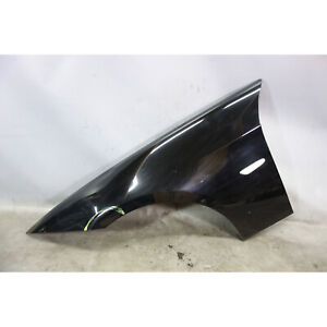 Damaged BMW E90 E91 3-Series 4door Left Front Fender Quarter Panel Jet Black 2