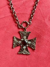 Guess Cross Necklace Very Cool 16 Inch