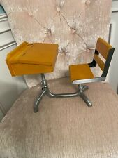 New ListingAmerican Girl Molly School Desk & Chair Doll Sized Wooden Retired Pleasant Co.