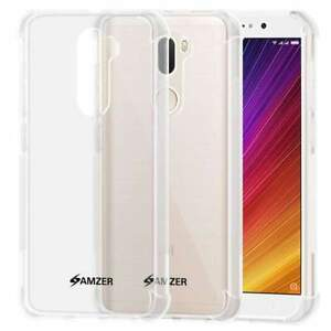 AMZER Pudding TPU X Protection Case Back Cover for Xiaomi Mi 5s Plus - Clear