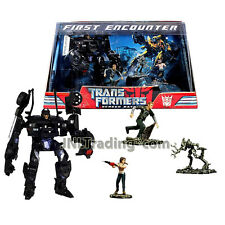 Year 2007 Transformers 1st Movie Screen Battles Figure Set FIRST ENCOUNTER
