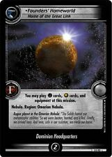 Star Trek CCG 2E Promo Founder's Homeworld, Home Of The Great Link FOIL 0P48