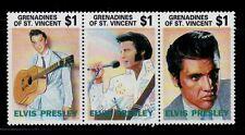SELLOS  MUSICA. S.VICENTE GRANADINES 1992  ELVIS PRESLEY. 818/20 3v.