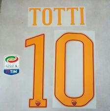 STILSCREEN ROMA 2016-2017 NAME SET HOME TOTTI 10 TOPPA SERIE A TIM LEGA CALCIO