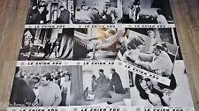 LE CHIEN FOU ! dany carrel  c brasseur jeu photos cinema lobby cards 1966