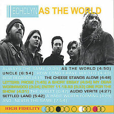 echolyn-as the world  CD NEW