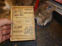 Publicité Chocolat Duroyon et Ramette à Cambrai : Chicoré