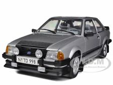 1984 FORD ESCORT RS1600i SILVER 1/18 DIECAST MODEL CAR BY SUNSTAR 4998