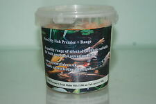 FMF Garden Pond Fish Flake Food 5 ltr Tub Approx 500g Suitable For All fish