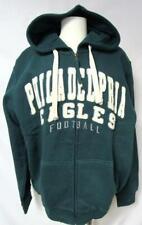 Philadelphia Eagles Mens M Full Zip Embroidered High End Hooded Sweatshirt YZ 15