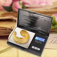 1000g x 0.1g Digital Scale Jewelry Gold Silver Coin Gram Pocket Size Herb