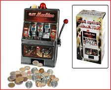 Slot Machine Piggy Bank Casino Slot Machine One-Armed Bandit + Sound + Light
