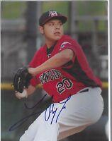 luis ortiz signed 8x10 autographed photo auto texas rangers mlb baseball milb tx