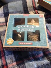 WOODEN PUZZLES GAME