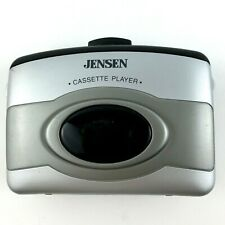 Jensen Cassette Player with Bass Boost Sc-6 Belt/Visor Clip Tested