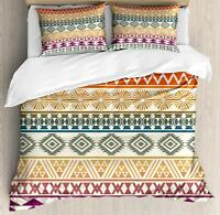 Aztec Duvet Cover Set Twin Queen King Sizes with Pillow Shams Bedding