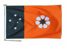 More details for northern territory australia flag 3'x2' (90cm x 60cm) with rope and toggle