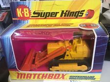 MATCHBOX Super King K-8 Traxcavator With Hydraulic Shovel