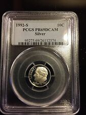 1992-S 10C Silver DC (Proof) Roosevelt Dime