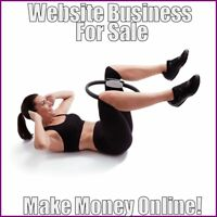 PILATES Website Earn $42.51 A SALE|FREE Domain|FREE Hosting|FREE Traffic
