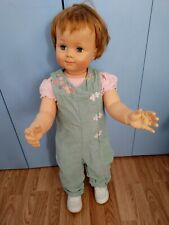 """Adorable Velvet Embroidered Overalls & Onsey Shirt 4 Penny Play Pal & Dolls 32"""""""