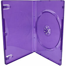 200 X XBOX 360 Kinect Purple Replacement Game Cases - BRAND NEW