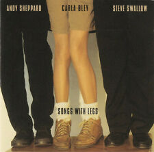 CARLA BLEY STEVE SWALLOW ANDY SHEPPARD Songs With Legs CD Thelonious Monk ECM