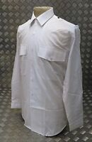 Genuine British Police Issue White Shirt Old Bill / Bobby Long or Short Sleeve