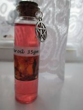 WITCHCRAFT VIAL OF PINK ALTAR OIL SPECIAL BLEND FOR CANDLES~RITUALS~TOOLS~ALTAR