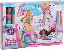 Barbie GJB72 Dreamtopia Adventskalender Puppen Spielzeug Kinder Weihnachten